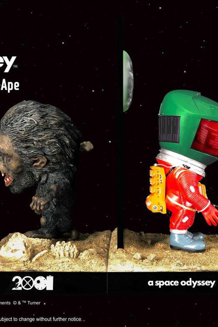 "[SA-6031] 6"" Astronaut Green Rescue & The Man-Ape Twin Pack  By Star Ace"