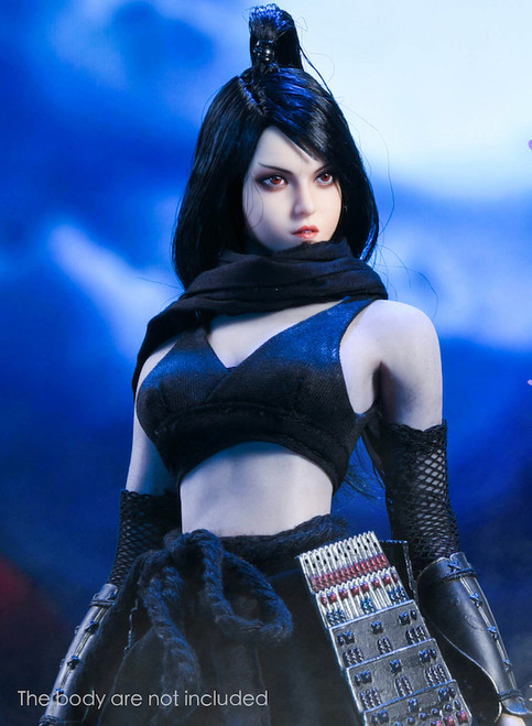 [YMT-036] 1/6 Cold Moon Ninja Female Figure Accessories by YM Toys