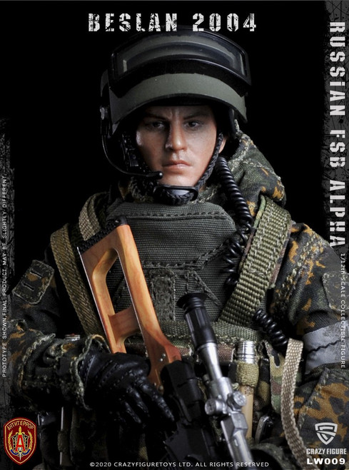 [CF-LW009] 1/12 Russian Alpha Special Forces Sniper by CrazyFigure