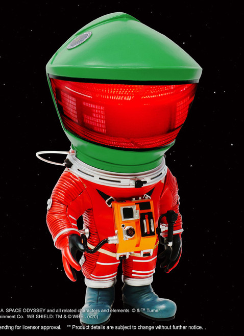 "[SA-6034] 6"" Astronaut Green 2.0 Deform Soft Vinyl Statue By Star Ace"