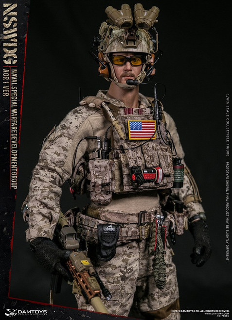 [DAM-78065] 1/6 NSWDG NAVAL SPECIAL WARFARE DEVELOPMENT GROUP AOR1 VER by DAM Toys