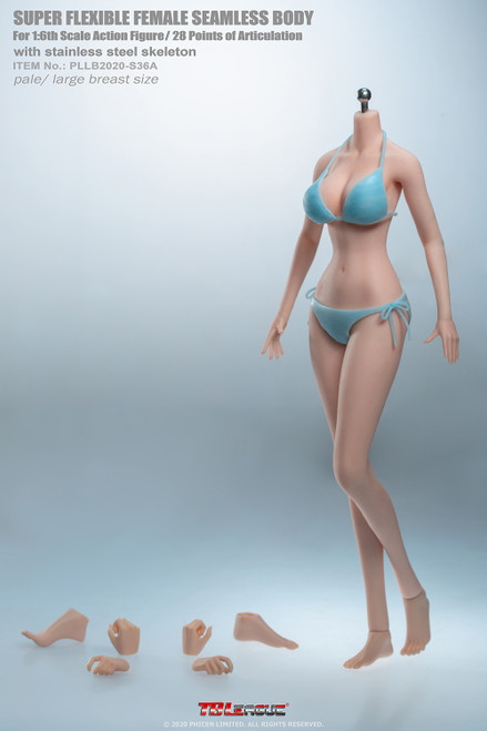 [PLLB2020-S36A] 1:6 Anime Girl Super-Flexible Seamless Body by TBLeague Phicen