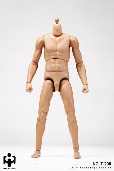 [HY-T20R] 1:6 Caucasian 2.0 Super Sportsman's Body by HY Toys