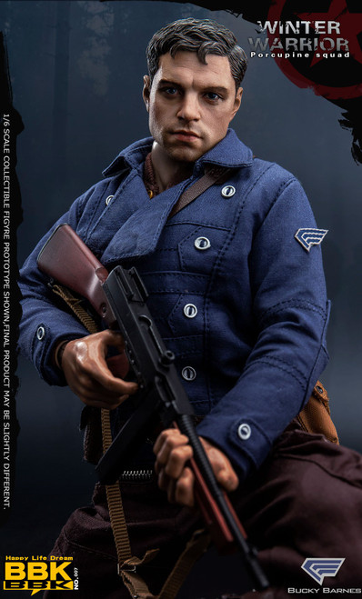 [BBK-007] 1/6 Barnes Action Figure