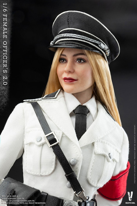 [VCF-2051] Very Cool 1/6 WWII German Female SS 2.0 Officer Action Figure