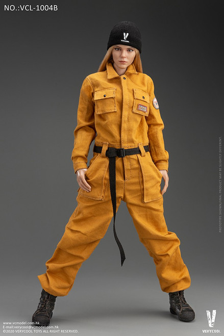 [VC-L1004B] Female Work-Wear in Turmeric Set by Very Cool
