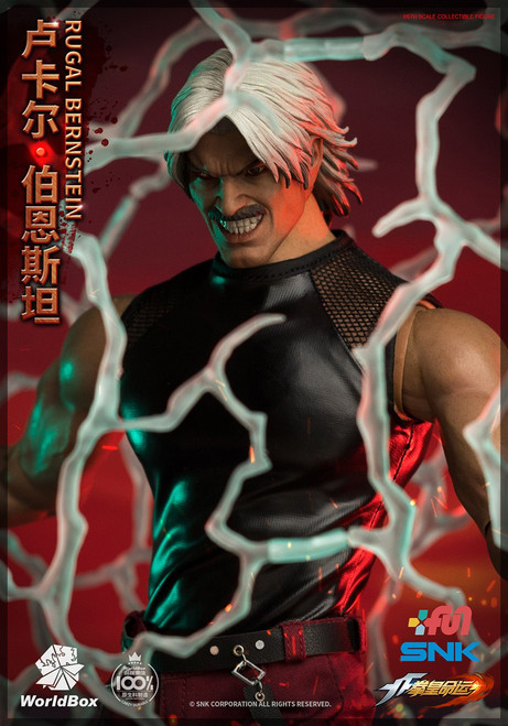 [WB-KF101] The King Of Fighters RUGAL Deluxe 1/6 Figure by World Box