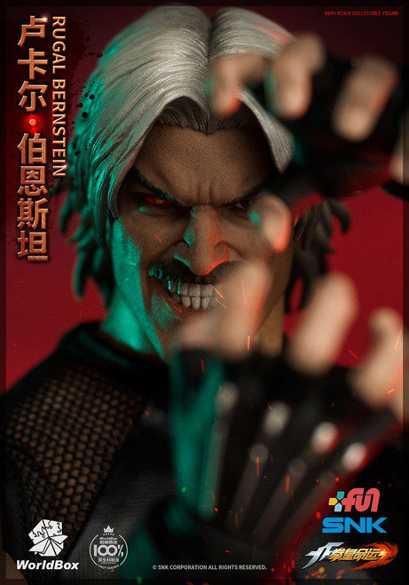 [WB-KF102] The King Of Fighters RUGAL 1/6 Figure by World Box