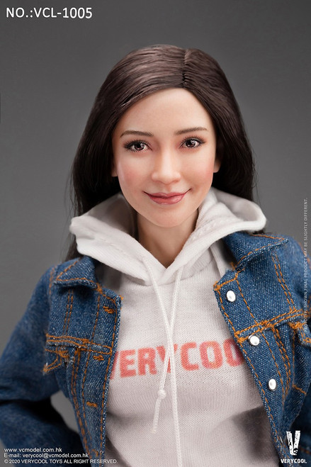[VC-L1005] Female Denim Leisure Wear Set by Very Cool
