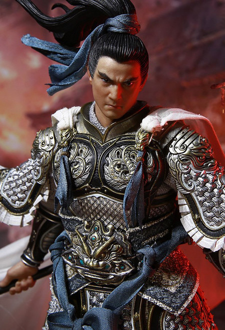 [IFT-050] 1/12 There Kingdoms Soul Of Tiger Generals Zhao Zilong by Inflames Toys X Newsoul
