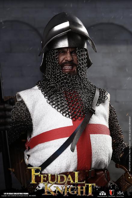 [CM-SE065] Die-Cast Alloy Feudal Knight 1:6 Figure by COO Model