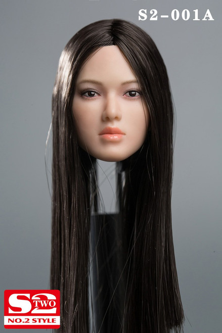 [S2-001A] 1/6 Female Action Figure Head by S2-Studio
