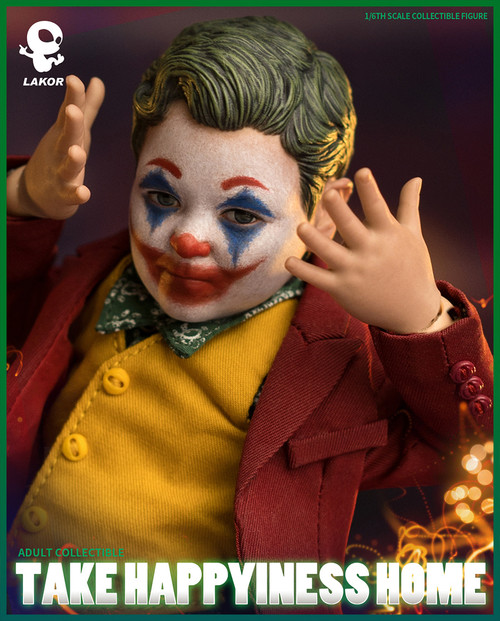 """[WB-BB018] 6"""" Tall Clown Baby Deluxe Version by World Box"""