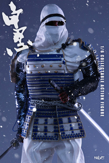 [TD-06] 1/6 White Ninja Boxed Figure by Toys Dao