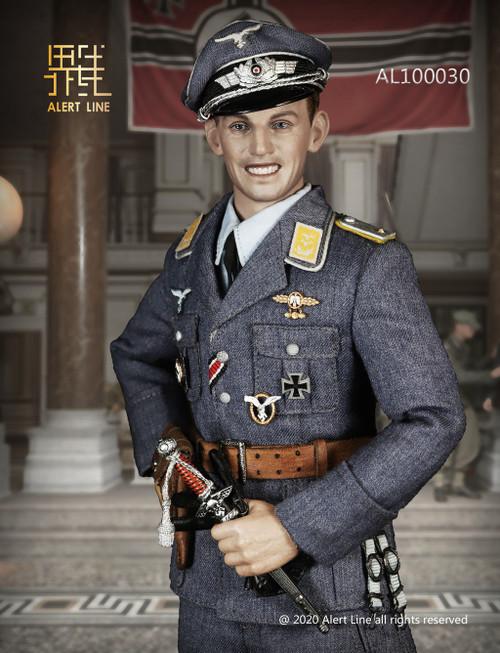 [AL-100030] 1:6 WWII German Luftwaffe Fighter Ace Figure by Alert Line