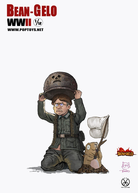 "[POP-BGS006] 1:12 Beab Gelo ""Hans"" Figure by POP Toys"