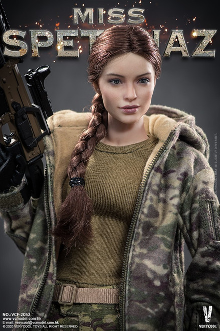 [VCF-2052] 1/6 Russian Special Combat Women Soldier by Very Cool