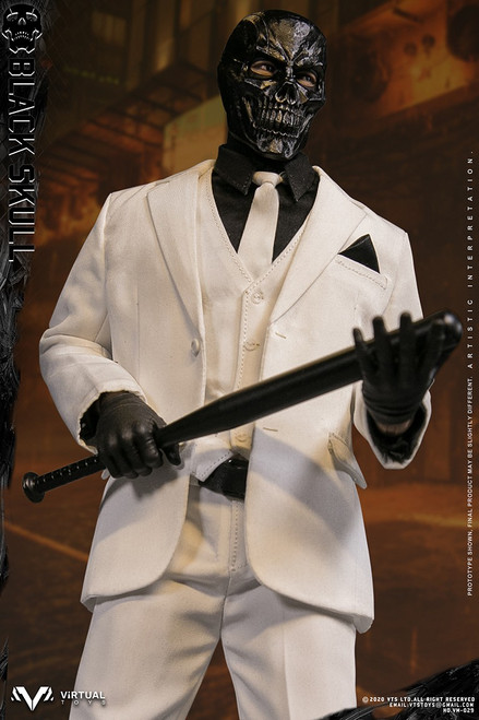 [VM-029] 1/6 Black Skull Boxed Action Figure by Virtual VTS Toys