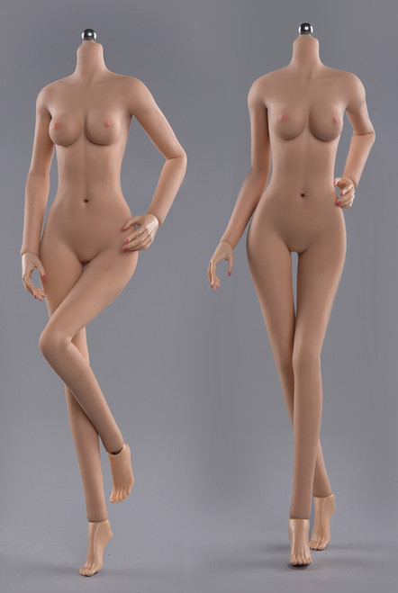 [JOQ-05B-BS] Asian Shape Detachable Foot, Wheat Skin Small Bust by Jiaou Doll