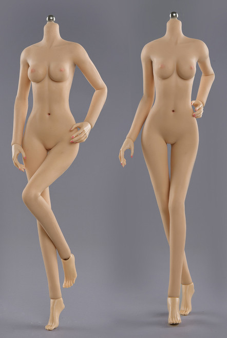 [JOQ-05B-YS] Asian Shape Detachable Foot, Natural Skin Small Bust by Jiaou Doll