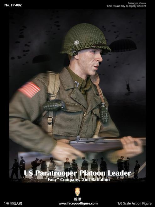 [FP-002A] 1:6 US Paratrooper PlatoonLeader Easy Company Regular by Facepoolfigure