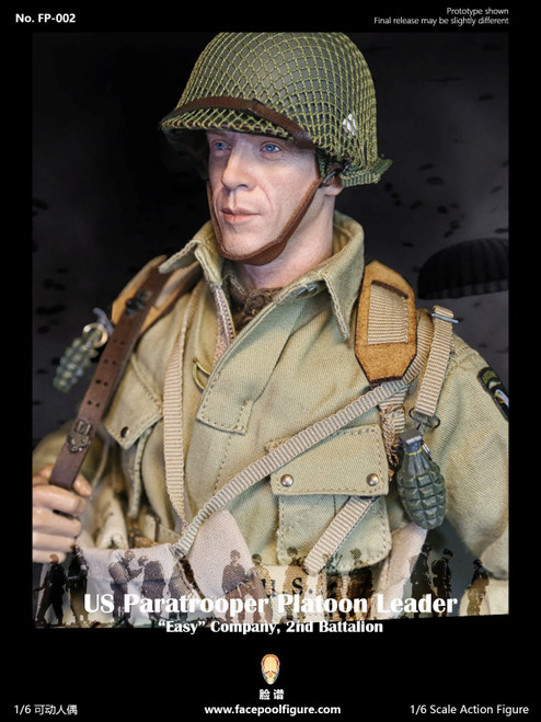 [FP-002B] 1:6 US Paratrooper PlatoonLeader Easy Company Special by Facepoolfigure