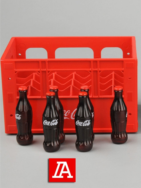 [ZY-3010A] 1/6 Soda Crates & Bottles by ZY TOYS