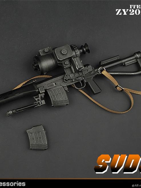 [ZY-2012B] 1/6 SVDS Rifle by ZY TOYS