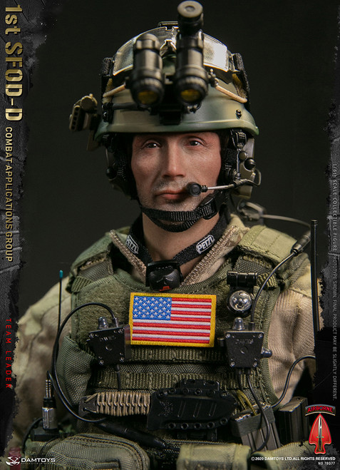 [DAM78077] 1/6 1st SFOD-D  Combat Applications Group Team Leader by DAM Toys