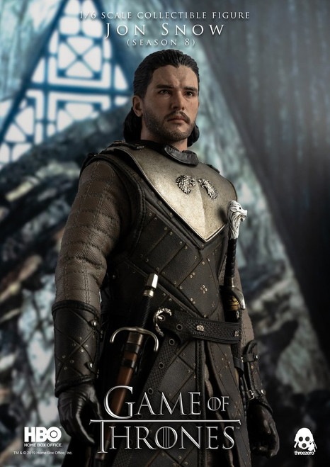 [3A-3Z0101] Game of Thrones JON SNOW (Season 8) 1/6 Collectible Figure