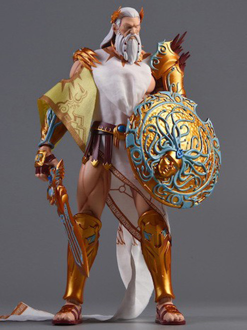 [MW-001] Morrowind 1:12 Gods of All Nations Zeus Action Figure AKA BS-M01
