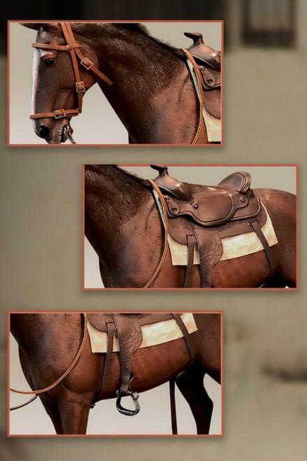 [SA-0088C] Star Ace 1/6 James Dean Horse
