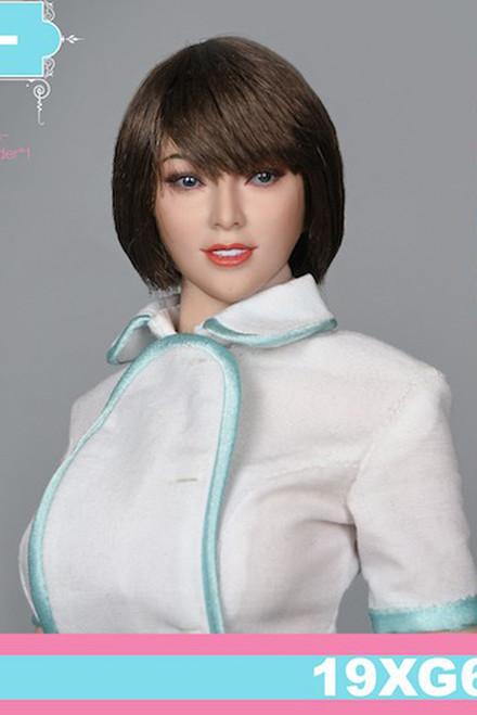 [VST-19XG64B] VS Toys 1/6 Nurse Uniform & Head A