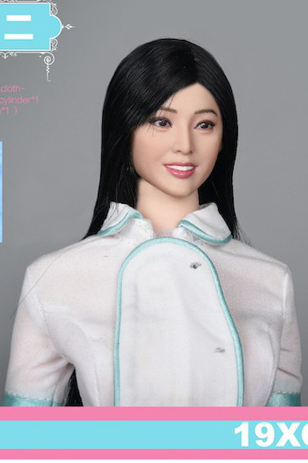 [VST-19XG64B] VS Toys 1/6 Nurse Uniform & Head B