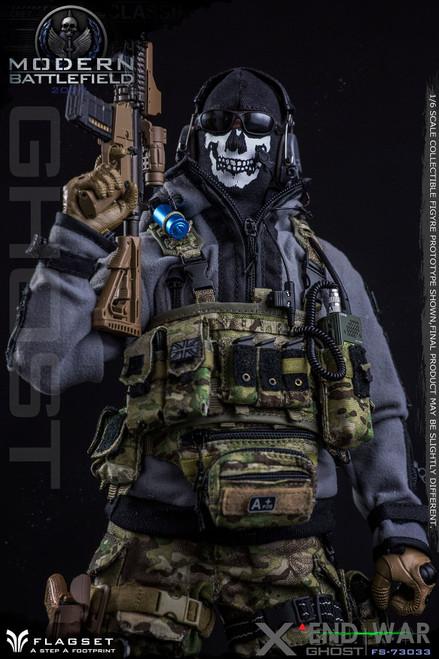 [FS-73033] 1/6 FLAGSET Modern Battle End War X Ghost Figure