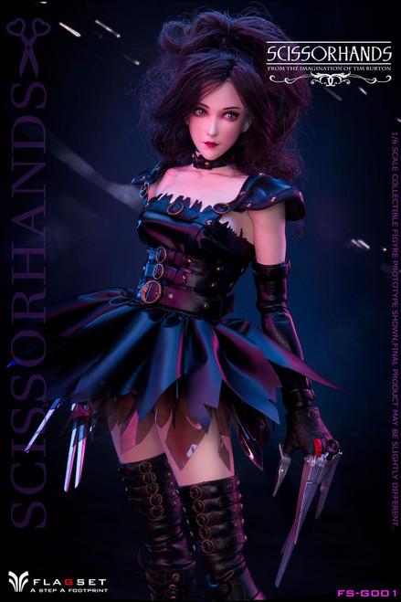 [FS-G001] 1/6 FLAGSET Lady Scissorhands Figure