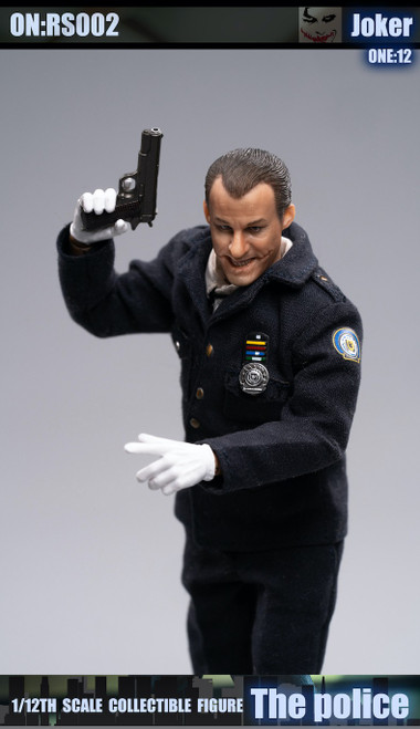 [CF-RS002] Crazy Figure X Rock Toys 1/12 Buffoon Police Action Figure