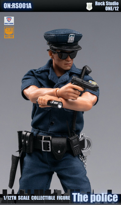 [CF-RS001A] Crazy Figure X Rock Toys 1/12 City Police Action Figure