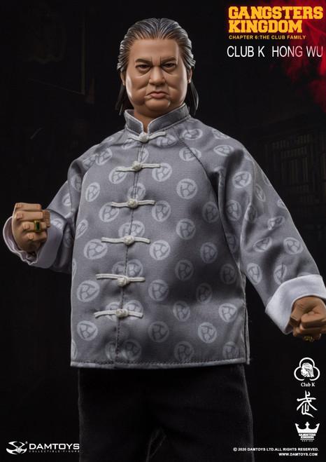 [DAM-GK020] DAM TOYS 1:6 Gangsters Kingdom Club K Hong Wu