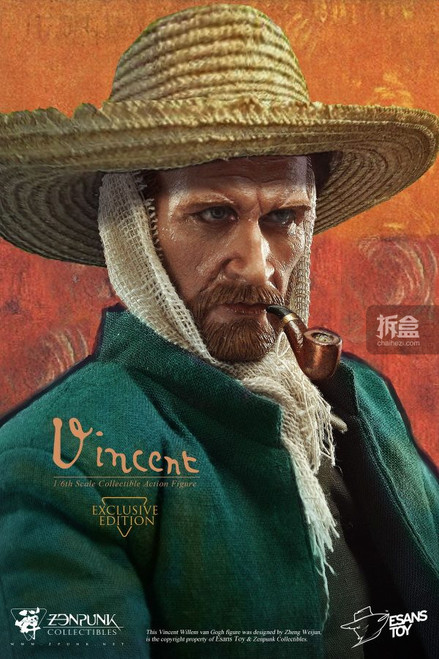 [ZEN-VG01EK] 1:6 EsansToy x Zenpunk Great Master Vincent Willem van Gogh Exclusive