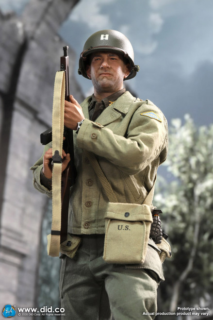 [DiD-A80145] 1/6 WWII US 2nd Ranger Battalion Series  3 Captain Miller Figure