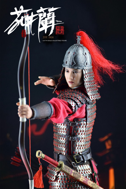 [ZOY-006D] Zoy Toys 1/6 Female Warrior Deluxe Figure