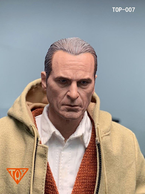 [TOP-007] Custom Buffoon Headsculpt for 1/6 Scale Figures