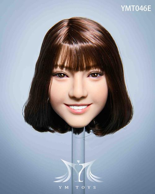 [YMT-046E] YM Toys 1/6 Malus Female Medium Brown Head