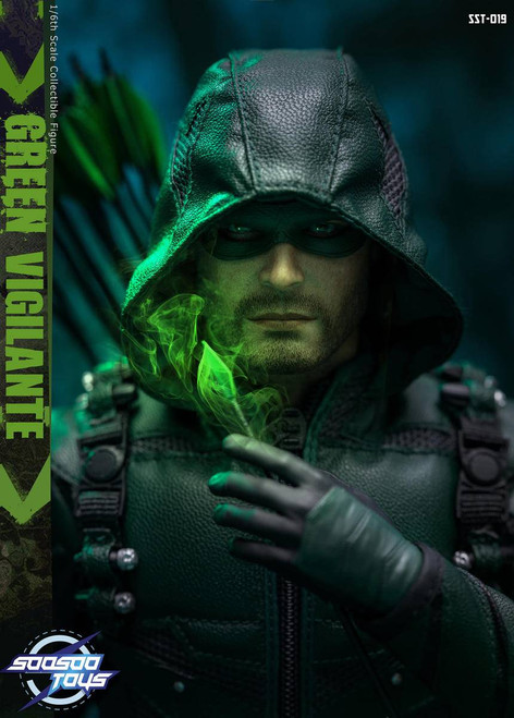 [SST-019] SooSoo Toys Green Vigilante 1/6 Collectible Figure