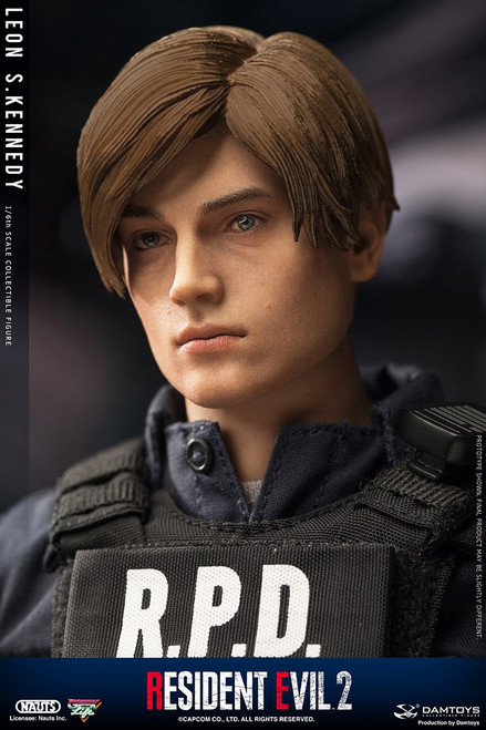 [DMS030] 1/6 Resident Evil 2 Leon S. Kennedy Figure By Dam Toys