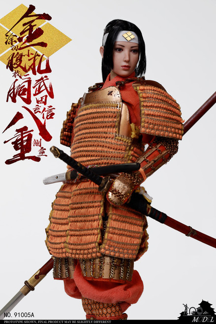 [IQO-91005A] IQO Model 1/6 Takeda Shingen Sideroom Badong Standard Version