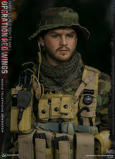 [DAM78081] DAM Toys 1/6  Operation Red Wings NAVY SEALS SDV Team 1 Radio Telephone Operator