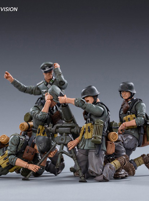 [JT-0456] 1:18 WWII German Mountain Division Wehrmacht by JoyToy