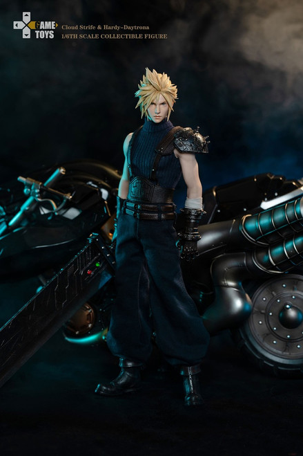 [GMT-002C] Game Toy 1/6 Fantasy Warrior Cloud Strife Deluxe Edition